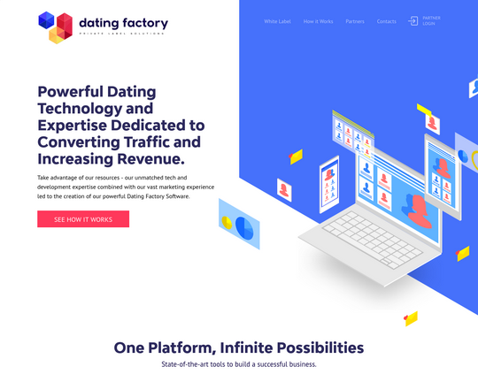 Dating Factory Logo